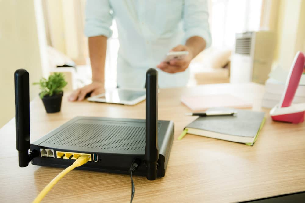 Where your router is located in your home can cause a slow internet connection.