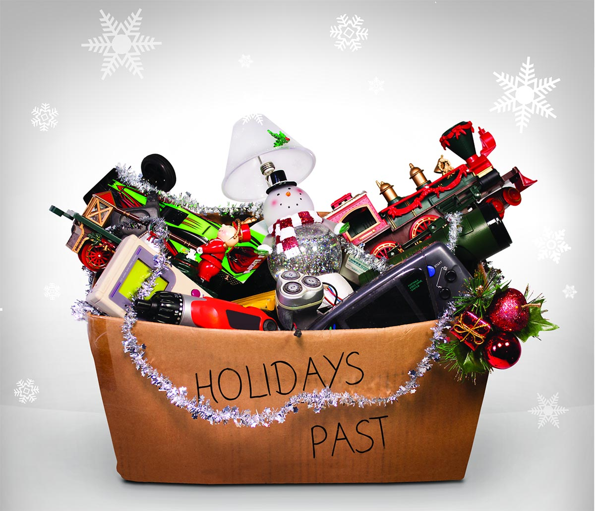 Holiday season safety: Protect your family by recycling old batteries