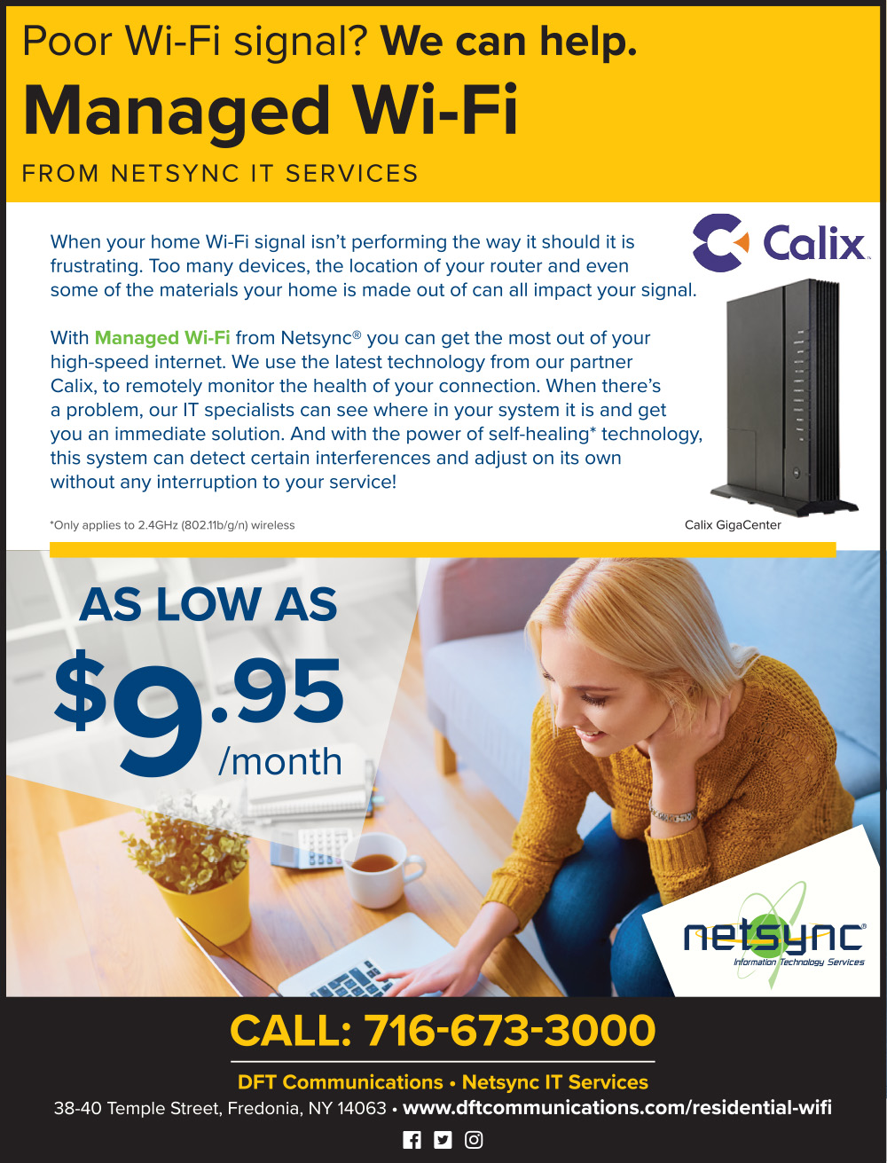 Current Promotions | Netsync IT Services | Managed Wi-Fi Details