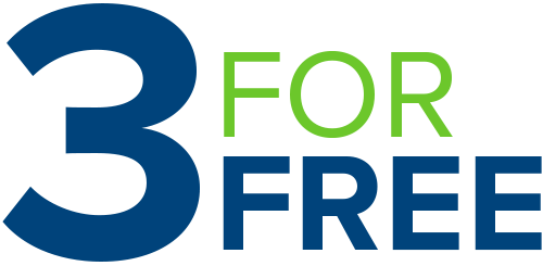 3 For Free | Current Promotions