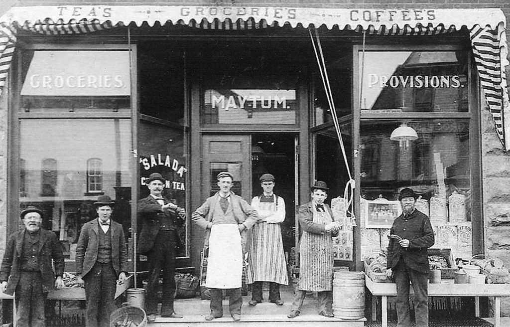 Arthur R. Maytum at Grocery Store (1898) | Our History
